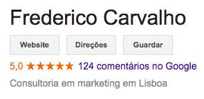 Google Frederico Carvalho