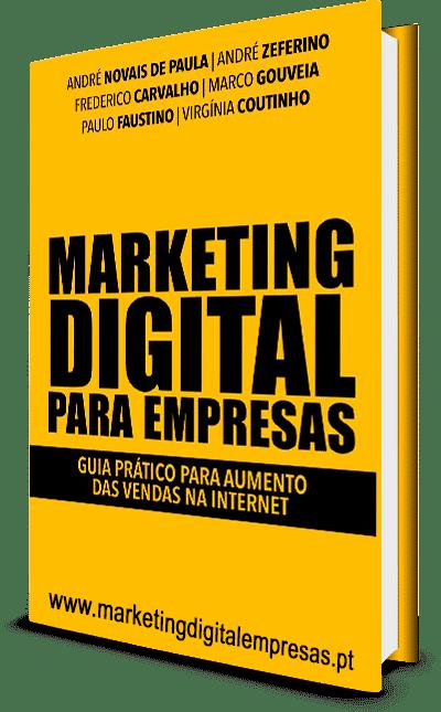 livro marketing digital para empresas, frederico carvalho